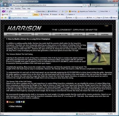 Harrison-Smash Golf